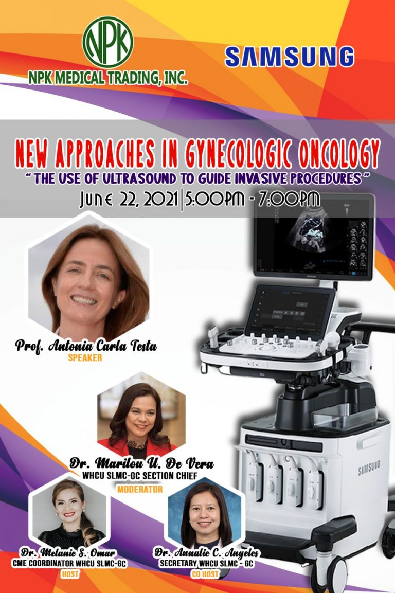 Webinar : New Approaches in Gynecology Oncology